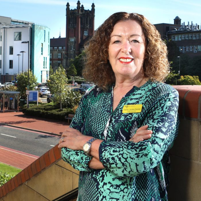 Dame Jackie Daniels, Chief Executive Officer, Newcastle upon Tyne Hospitals NHS Foundation Trust